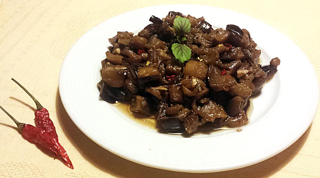 Shanghai style Eggplant (Aubergine)