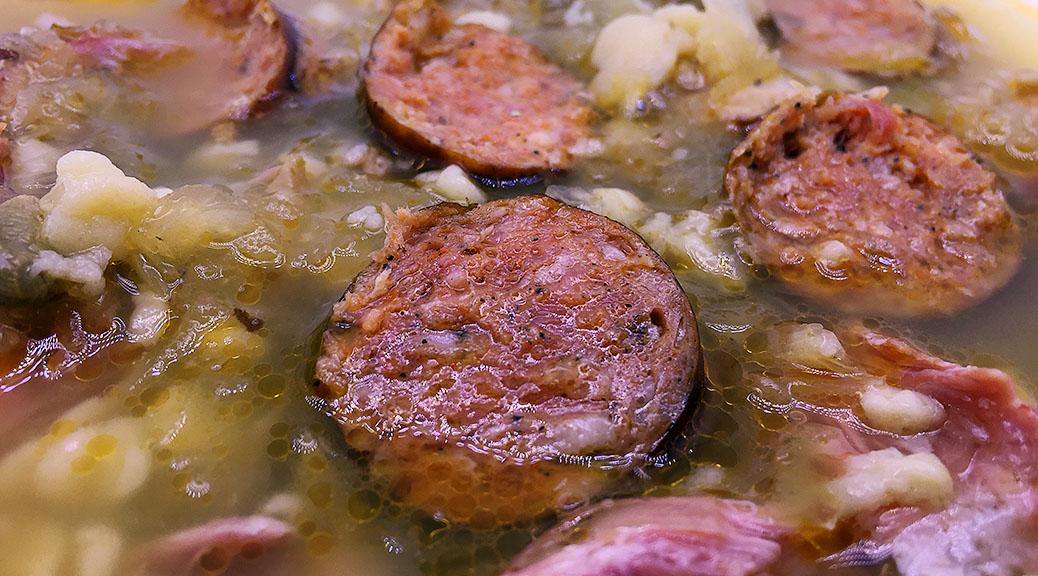 Kapustnica - Sauerkraut soup